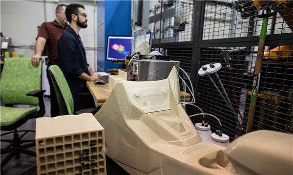 福特展示3D打印技术 未来或完全用于生产