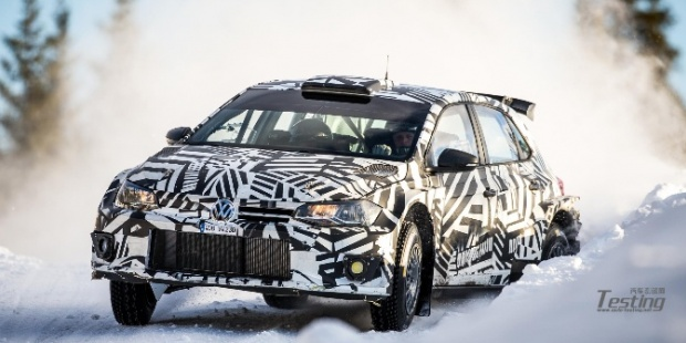 大众Polo GTI R5完成在瑞典的测试