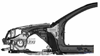 简单分析前副车架焊缝疲劳分析及优化