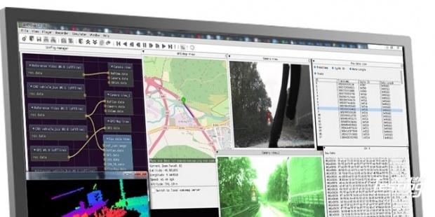 b-plus验证工具链包含可视化框架 可记录、分析和处理多个传感器输入数据