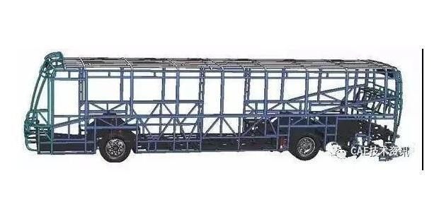 大客车结构强度、振动及疲劳仿真分析