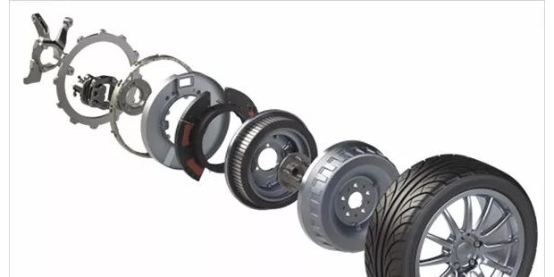 提高电动汽车效率及性能的轮毂电机系统基准模型仿真研究