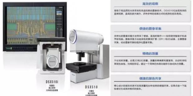 DSX系列数码光学显微镜在汽车行业中检测应用