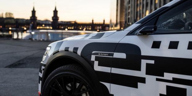奥迪e-tron电动SUV安装摄像头替代后视镜 提高续航里程