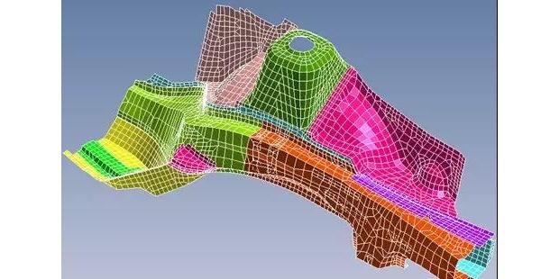 nCode Designlife 动画显示损伤最大载荷循环下的结构变形