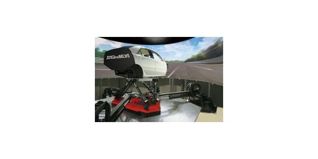 鹭宫制作所2018汽车测试展将展出强大的驾驶模拟器