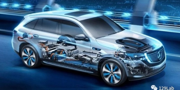 Mercedes-Benz 奔驰EQC纯电动电池包