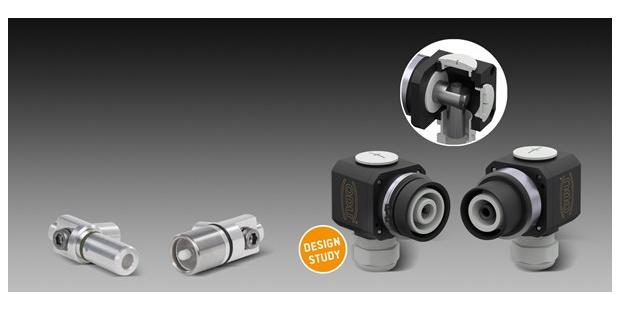 ODU DOCK概念产品-单芯大电流连接器