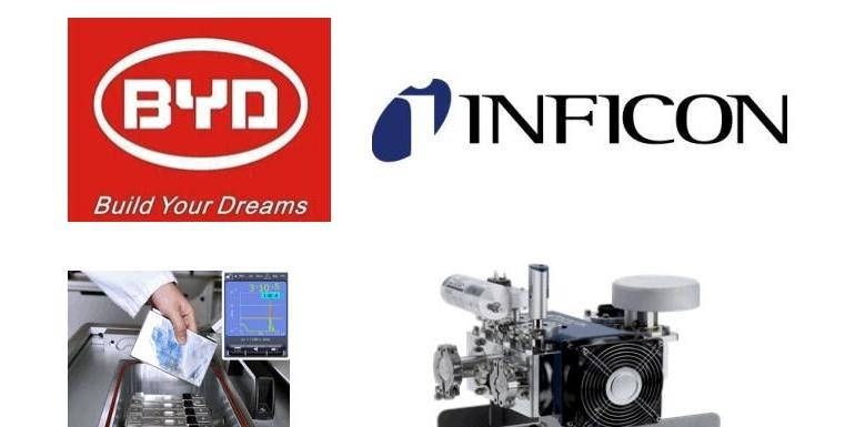 比亚迪将在新建动力电池生产线上全面采用德国英福康公司氦气检漏仪