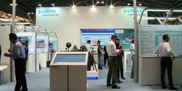 2018上海汽车测试展,西门子现场全方位展示其全球领先的仿真及试验解决方案【现场视频】