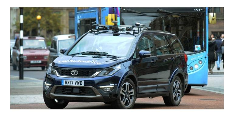 英国Autodrive项目完成复杂的自动驾驶道路测试