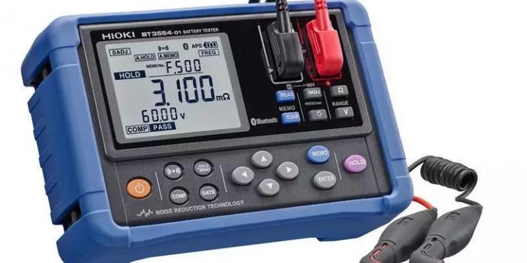 HIOKI(日置)将发售电池测试仪BT3554和针型测试线L2020的套装