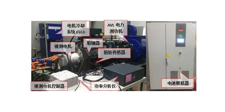 技术丨电动汽车用驱动电机系统台架试验研究