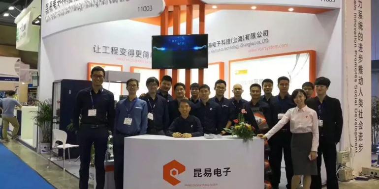 昆易迎来上海2018汽车测试展的圆满成功