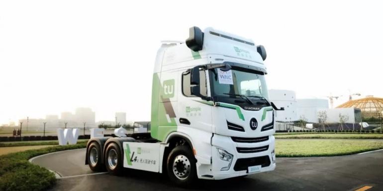 国内首个颁发自动驾驶卡车道路测试牌照的城市出现啦……
