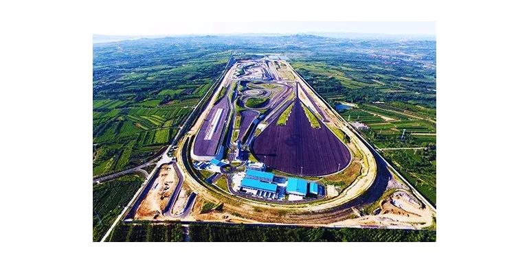 亚洲最大室外轮胎试验场二期路面施工全部完成