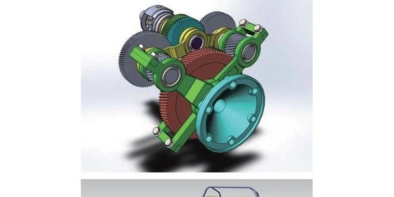 【吉大科技成果】分布式驱动电动汽车轮边系统