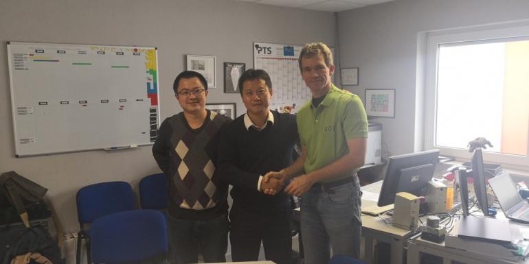 广州泽尔与德国GDS签署合作协议
