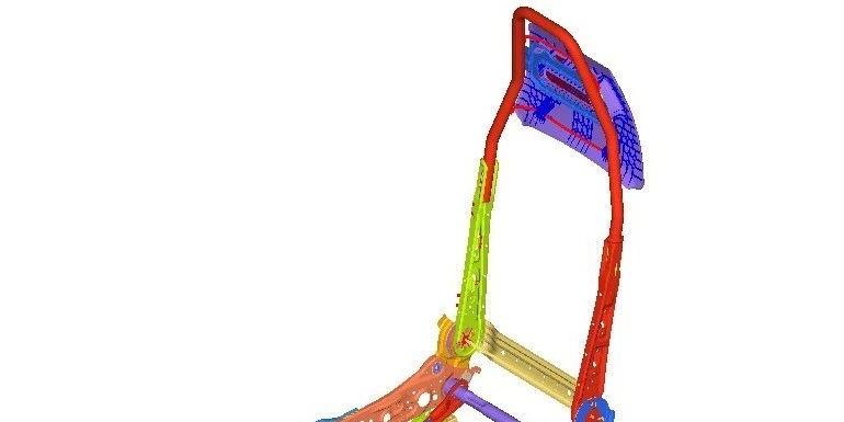 案例 | 某汽车座椅进行的头冲吸能实验的仿真计算