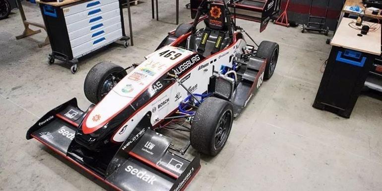 成功案例:奥格斯堡应用技术大学车队是大学生方程式汽车大赛世界纪录的保持者