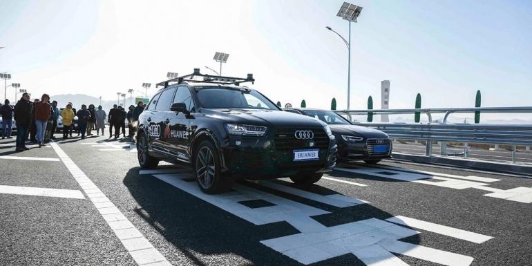 奥迪在国内实际高速公路场景测试L4自动驾驶 L4到底神奇在哪?