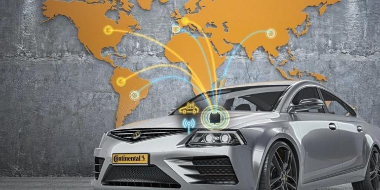 大陆集团研发全球5G-混合式-V2X解决方案,并成功拿下首个量产项目