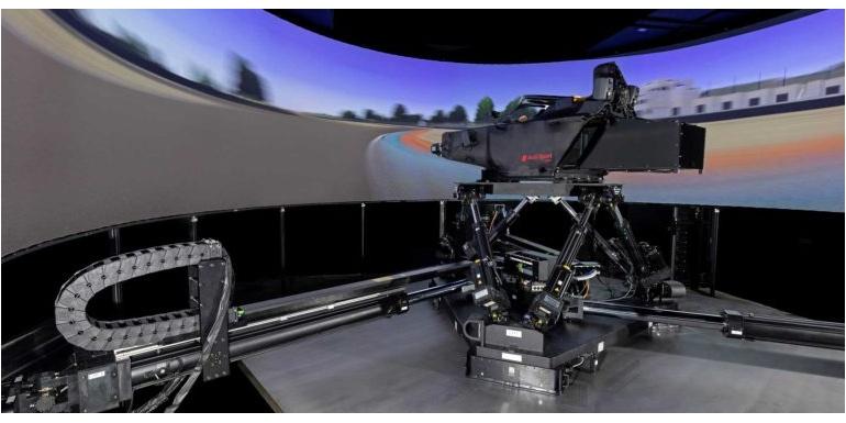 Audi Motorsport安装动态驾驶模拟器