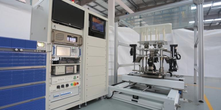 东方中科无线充电测试系统正式亮相广州