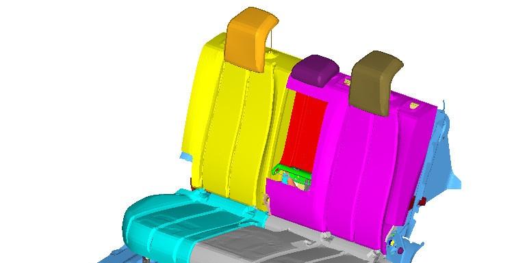 案例   基于HyperWorks的三点式安全带固定点座椅强度分析