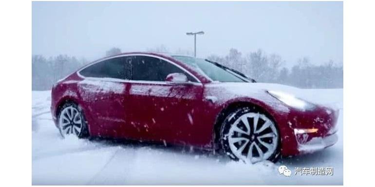 电动车冬季续航降多少?美国汽车协会称平均减少  41%