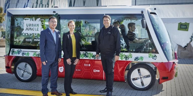 亮道智能合作伙伴HFM与轮毂电机公司Elaphe合作,打造自动驾驶电动车解决方案