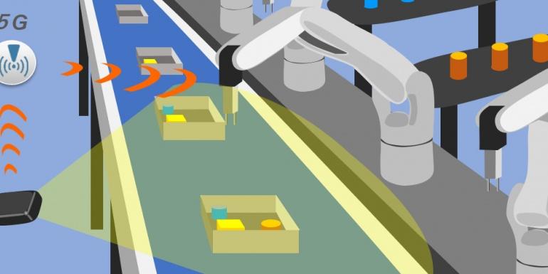 迎接5G时代 | 电装开启5G工业机器人实证测试