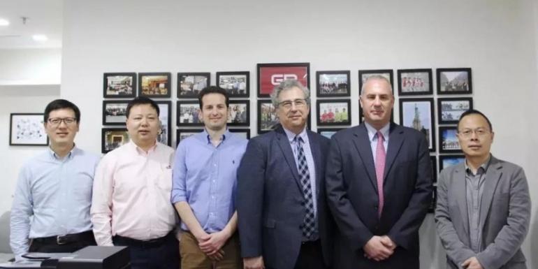 美国威势精密集团(VPG)总裁&首席执行官ZivShoshani先生到访冠标总部