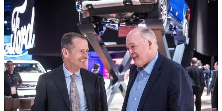 大众、福特要合作拼未来,自动驾驶公司Argo AI会是双方的开山斧吗?