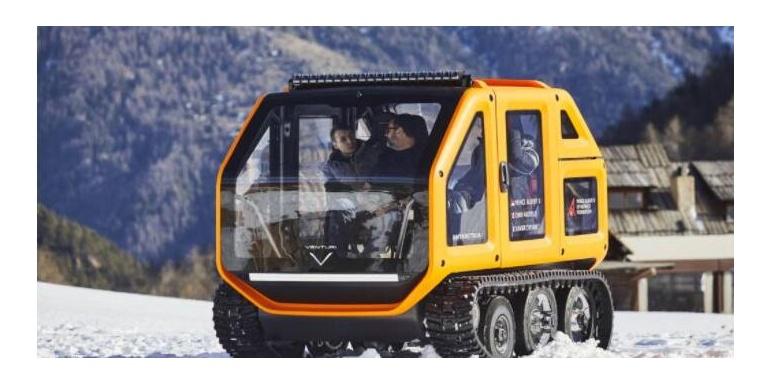 摩纳哥电动汽车公司Venturi成功测试第一台电动极地探测车