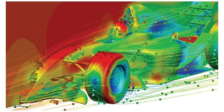 同步 CFD 分析方法加速汽车设计