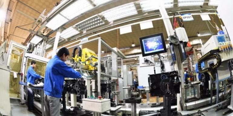 五菱柳机NPT20智能工厂批量生产