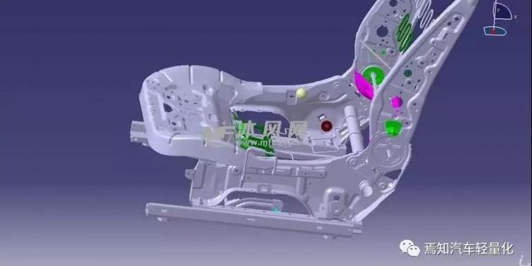 汽车座椅骨架轻量化及被动安全研究