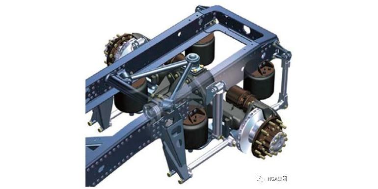 导向机构对四连杆空气悬架侧倾特性影响