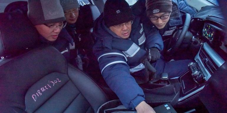 联合电子黑河试验基地冬季试验【视频】