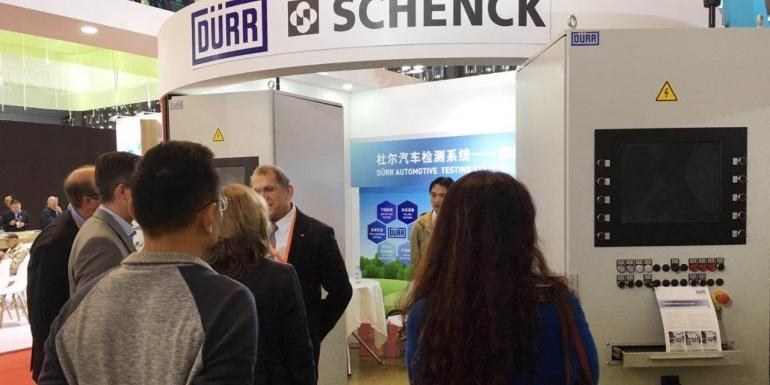上海申克智能化的新能源汽车测试系统