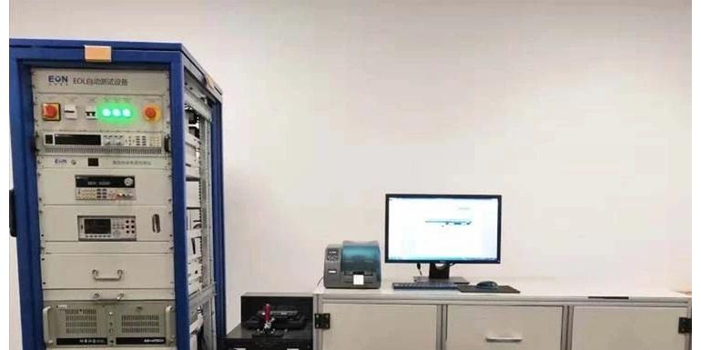 意昂神州VCU/BMS生产线终端(EOL)测试系统