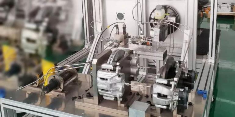 凯帝斯工业系统电子液压制动系统性能测试解决方案