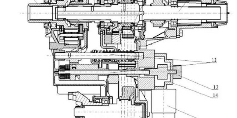 一款全时四驱电控分动器总成的开发介绍