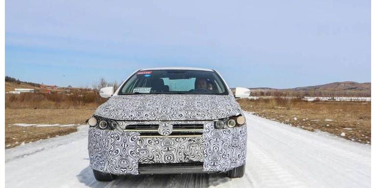 比亚迪最新龙颜轿车曝光!内部代号HD,已进入最后测试阶段