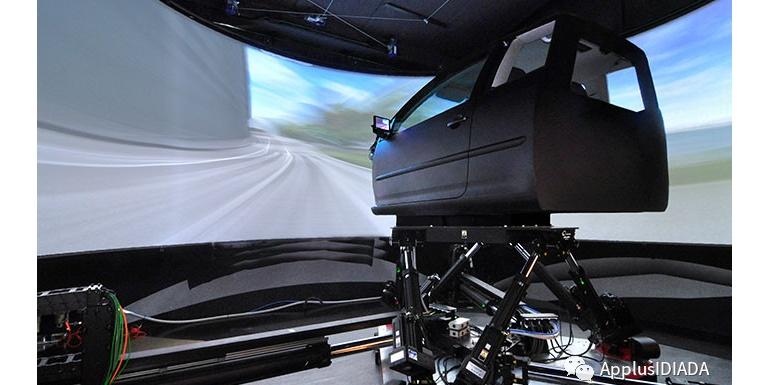 IDIADA 高科技新型驾驶模拟器