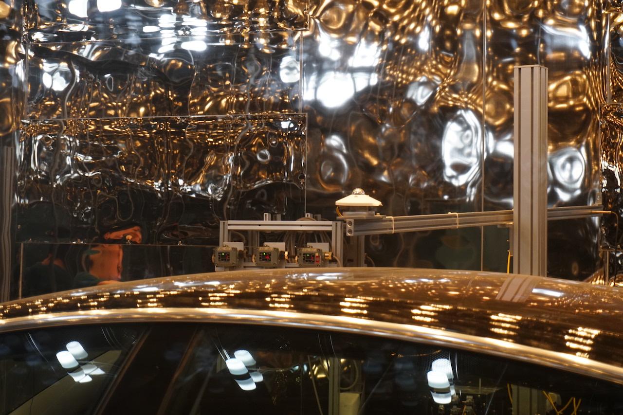 全玻璃构成的车顶