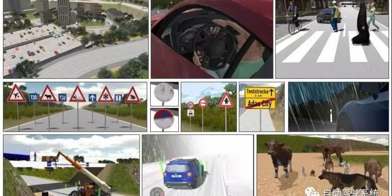 自动驾驶测试中的场景构建