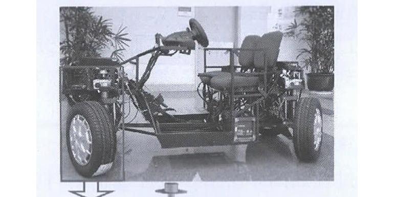 四轮独立转向-独立驱动电动车主动避障路径规划与跟踪控制