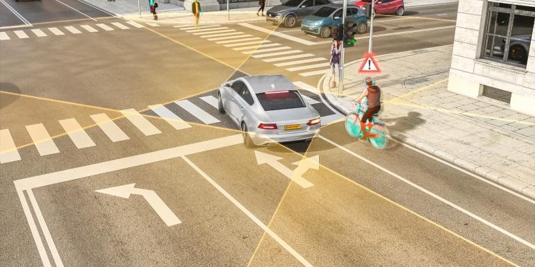 避免转弯交通事故!大陆集团这款新型雷达让骑行者更加安全